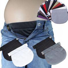 Set Of 2 Maternity Pregnancy Waistband Belt Adjustable Waist Extender Pants Mija