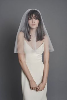 Every bride desires to look at her best on her big day,so everything should be perfect, including décor, costume, makeup and hairstyles. A veil is a beautiful bridal accessory that makes your look … Bride Hairstyles With Veil, Bridal Hairstyles, Wedding Veils, Wedding Dresses, Wedding Cape, Le Divorce, Short Veil, Bride Veil, Wedding Hair Accessories