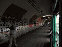 Spookstation metro Parijs: Het station Haxo heeft geen enkele uitgang.