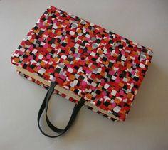 Portalibros de tela hecho a mano tutorial hazlo tu mismo diy algodón accesorios complementos lolahn handmade