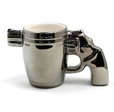 Gun Mug, Must Have's for your Man Cave, Unique gifts for Guys, Original Gifts for Men, Shopping on Granville Island, Vancouver BC