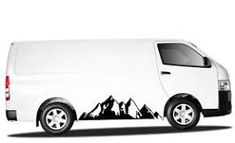 Image result for VW CAMPER DECALS MOUNTAINS
