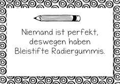 Niemand ist perfekt, Bleistift, Radiergummi, Poster, Zitat, download1, Kinder, Eltern, Legasthenie, Dyskalkulie, Legasthenietraining, Dyskalkulietraining, malen, Malvorlage