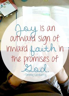 Daybook Online Journal: Lent Begins - Jesus Quote - Christian Quote - Joy is an outward sign of inward faith in the promises of God. The post Daybook Online Journal: Lent Begins appeared first on Gag Dad. Joy Quotes, Faith Quotes, Bible Quotes, Jesus Quotes, Happiness Quotes, Friend Quotes, Happy Quotes, Qoutes, Funny Quotes