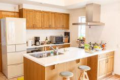 【アイジースタイルハウス】キッチン。カウンターでそのまま食事もとれる機能的なキッチン