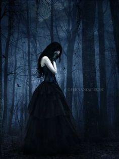 ___╋ I love Gothic ╋___ Dark Fantasy Art, Dark Gothic Art, Fantasy Kunst, Lauren Kate, Goth Beauty, Dark Beauty, Gothic Wallpaper, Illustrator, Dark Princess