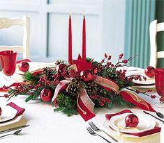 decoracion navideña para centro mesa turquesa - Buscar con Google