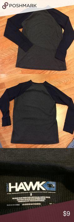 Size S Hawk shirt boys Size S Hawk shirt boys.  Gently pre-owned.  I believe it fits like a 6/7. Shirts & Tops Tees - Long Sleeve