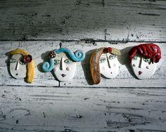 Broaches  spille di ceramica di Enrica Campi  @evvivanoè Cherasco (CN)
