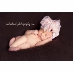 Newborn baby picture idea