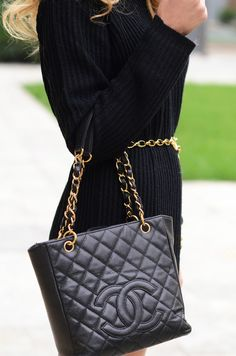 Black chanel bag! I love near enough all chanel bags! Cant say i have seen one i dont like upto now!!