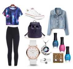 """""""Galaxy"""" by princessangelbabe1216 on Polyvore"""