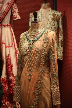 Sabyasachi Mukherjee's new line of bridal jewellery, in association with Kishandas & Co. Shop for your wedding jewellery with Bridelan - a personal shopper & stylist for weddings. Website www.bridelan.com #Bridelan