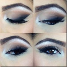 brown eyes makeup 302