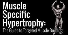 Muscle Specific Hypertrophy: The Guide to Targeted Muscle Building