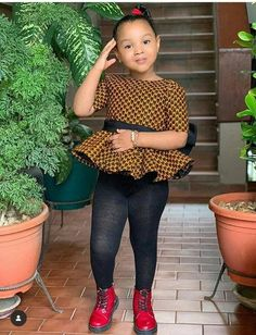 Items similar to Ankara printed clothes for girls / girls tops / girls kinte Blouses on Etsy – KinderMode Baby African Clothes, African Dresses For Kids, Latest African Fashion Dresses, Dresses Kids Girl, Kids Outfits Girls, African Wear, Girl Outfits, Ankara Fashion, Africa Fashion