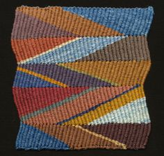Aeolus by Michael Rohde. Tapestry in Wedge Weave.