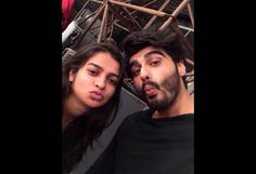 """Pic- pouting in a selfie with stylist"