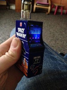 Space Invaders Box Vape Mod