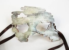 birch bark leather mask