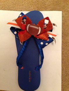 SHSU football flip flops