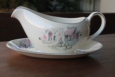 Alfred Meakin english gravy dish by MareeAustinDesigns on Etsy, $25.00