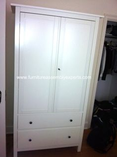 ikea hemnes wardrobe assembled in Baltimore MD by Furniture Assembly Experts Company