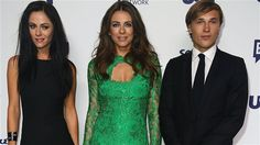 Alexandra Park with Elizabeth Hurley and William Moseley.