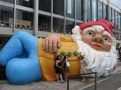 Giant Gnome Buttons by joy-z, via Flickr