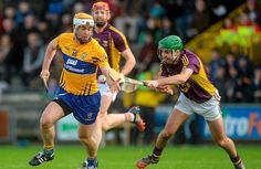 Protect your hand. Clare's Conor McGrath takes Shaun Murphy in the Allianz Hurling League encounter at Innovate Wexford Park. Picture credit: Piaras Ó Mídheach / SPORTSFILE Shaun Murphy, Picture Credit, Sports Stars, Coaching, Champion, Graphics, Running, Park, Celebrities