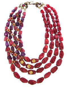 CLAIRE DEVE VINTAGE  80S ETHNIC NECKLACE  farfetch from Katheleys available from farfetch.com •ƒƒ•