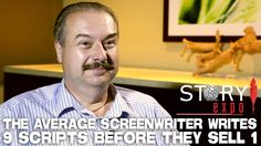 The Average Screenwriter Writes 9 Scripts Before They Sell 1. Some very practical advice from William C. Martell
