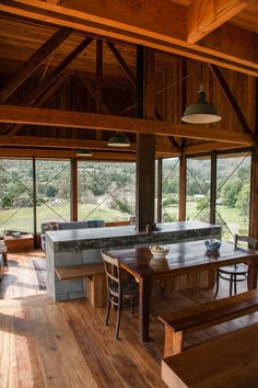 K Valley House by Herbst Architects. Photo Lance Herbst.