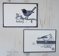 Best Birds & Birds & Blooms Thinlits by Stampin' Up! Tracy May