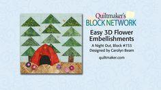 Easy 3D Flower Embellishments