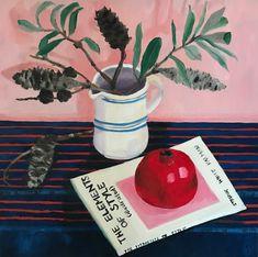 Melanie Vugich (@melanievugich) • Instagram photos and videos Lisa S, Pomegranate, Still Life, Contemporary Art, Photo And Video, Videos, Interior, Floral, Artist