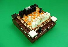 The Mini LEGO Chess Set by Akunthita #DIY trendhunter.com
