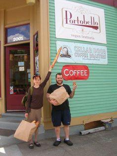 Portobello's Vegan Resturant!!! Chef Aaron Adams and Pastry Chef... where it all began!