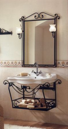 1000 images about herreria general on pinterest wrought for Accesorios lavabo
