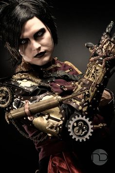 """""""Steampunk is.a joyous fantasy of the past, allowing us to revel in a nostalgia for what never was. It is a literary playground for adventure, spectacle, drama, escapism and exploration. Chat Steampunk, Arte Steampunk, Style Steampunk, Steampunk Couture, Steampunk Cosplay, Steampunk Design, Gothic Steampunk, Steampunk Clothing, Steampunk Fashion"""