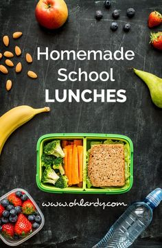 Homemade School Lunches - Oh Lardy!
