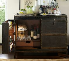 """Ludlow Trunk Bar Cabinet 