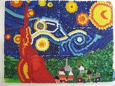 Mosaicos Sensacionais Feitos com Tampinhas de Garrafa