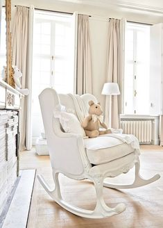 Rocking chair by Theophile et Patachou, belgian brand