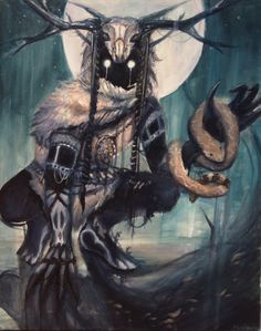 Rendition of a Skin Walker Fantasy Kunst, Fantasy Rpg, Fantasy Artwork, Dark Fantasy, Arte Horror, Horror Art, Fantasy Creatures, Mythical Creatures, Dark Creatures