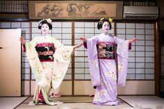October 2014: maiko Kiyono and Katsunosuke dancing the Gion Kouta by Joi Ito on Flickr