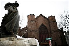 Lived in Salem, MA - The Cloaked Man is Roger Conant, Founder of Salem