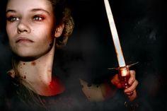 -Bellona- Linnea Kruslock  This is the godess of War.