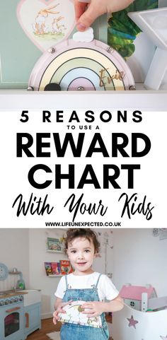 5 Reasons To Use A Reward Chart With Your Kids | Reward Systems For Kids | How To Use A Reward System For Your Kids | Why You Should Use A Reward Chart With Your Kids | Reward Charts For Kids | Reward Systems For Kids
