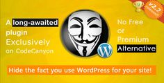 Hide My WordPress, it is an exclusive WordPress Plugin that helps in hiding your WordPress website. Simply, no one can know that your website has WordPress, protects your website from hackers as it is easy to hack WordPress sites.